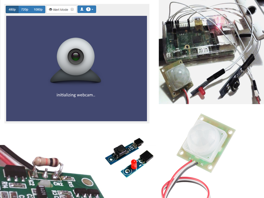 Home Monitoring with Raspberry Pi and NodeJs