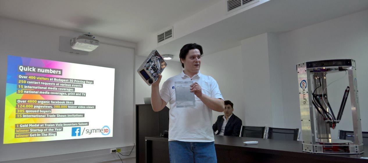 Calin Brandabur presenting Symme3D