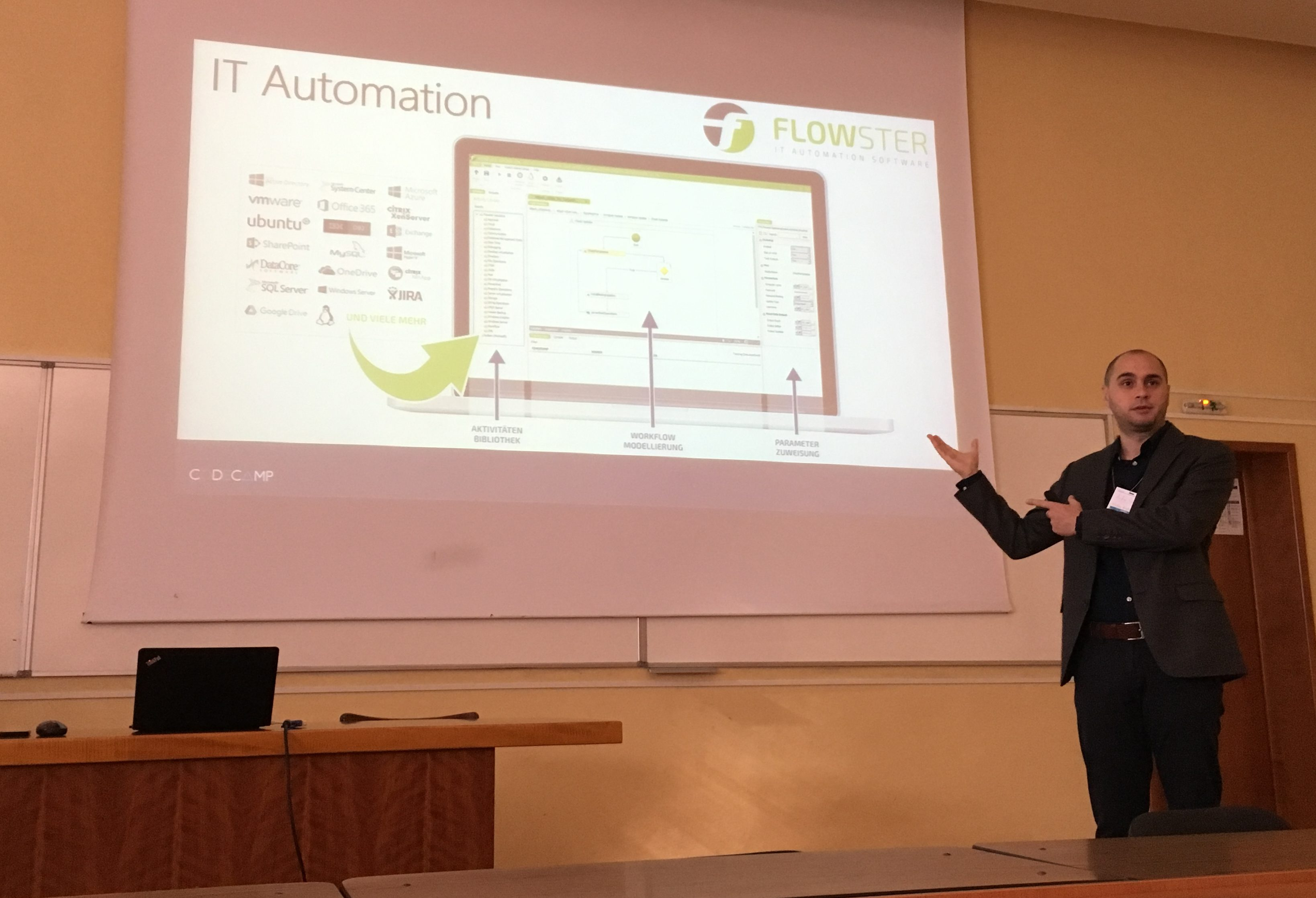 CodeCamp Timisoara - Windows Workflow Foundation - IT Automation